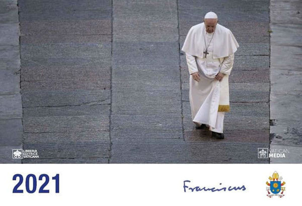 Picture of Official Wall Calendar Pope Francis 2021, cm 21x30 LEV Libreria Editrice Vaticana