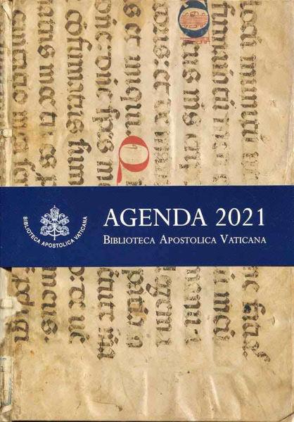 Picture of Agenda 2021 Biblioteca Apostolica Vaticana Grande da Tavolo cm 18x25 Edizione Limitata