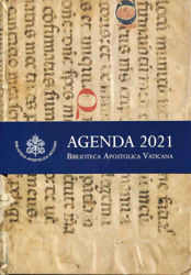Immagine di Vatican Apostolic Library 2021 Daily Desk Planner cm 18x25 Limited Edition