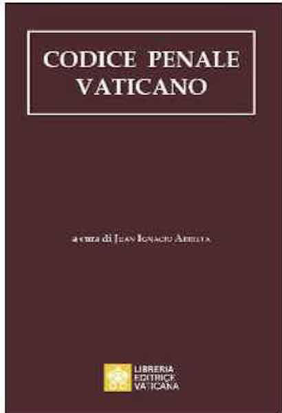 Imagen de Codice Penale Vaticano Juan Ignacio Arrieta