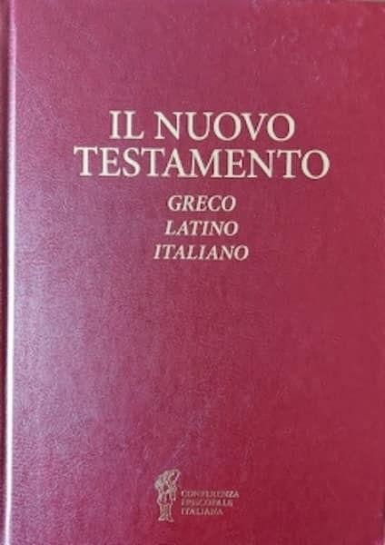 Picture of Il Nuovo Testamento Greco Latino Italiano Giuseppe Betori e Valdo Bertalot
