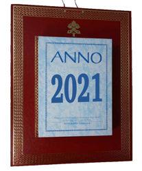 Imagen de Tagesblockkalender 2021 Abreißkalender Tipografia Vaticana Typografie Vatikan