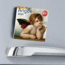 Immagine di Angels 2021 magnetic calendar cm 8x8 (3,1x3,1 in)