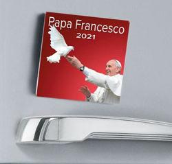 Picture of Calendario magnetico 2021 Papa Francesco cm 8x8