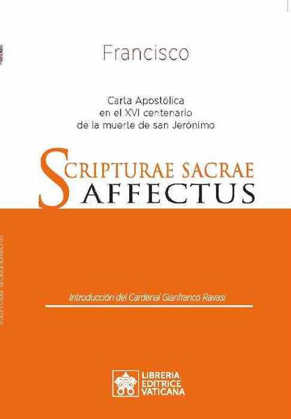 Picture of Scripturae Sacrae Affectus Carta Apostólica en el XVI centenario de la muerte de san Jerónimo Papa Francisco