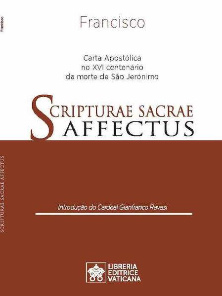 Picture of Scripturae Sacrae Affectus Carta Apostólica no XVI centenário da morte de São Jerónimo Papa Francisco