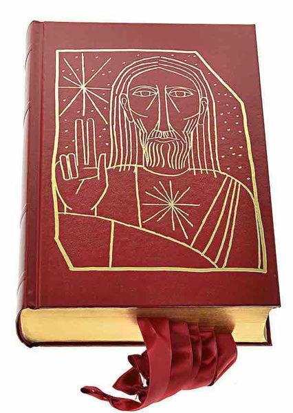 Imagen de Nuovo Messale Romano Taglio Oro con Orazionale. Nuova edizione 2020 Ristampa CEI Conferenza episcopale italiana