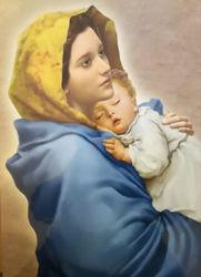 Picture of Madonnina - Roberto Ferruzzi PRINT cm35x50