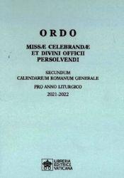 Picture of  ORDO Missae Celebrandae et Divini Officii Persolvendi 2021-2022 Libreria Editrice Vaticana