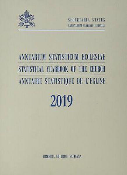Picture of Annuarium Statisticum Ecclesiae 2019 / Statistical Yearbook of the Church 2019 / Annuaire Statistique de l' Eglise 2019