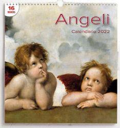 Imagen de Angels 2022 wall Calendar cm 31x33 (12,2x13 in)