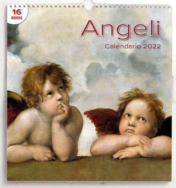 Immagine di Angels 2022 wall Calendar cm 31x33 (12,2x13 in)