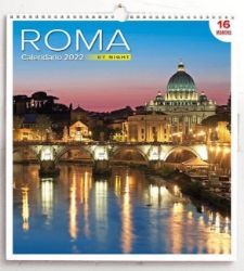 Immagine di San Pedro Roma by night Calendario de pared 2022 cm 31x33 (12,2x13 in)