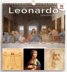 Picture of Wand-kalender 2022 Leonardo da Vinci cm 31x33