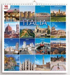 Immagine di Italia Calendario de pared 2022 cm 31x33 (12,2x13 in)