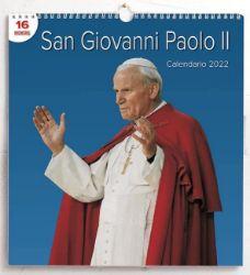 Picture of Calendario da muro 2022 San Giovanni Paolo II Papa cm 31x33 16 mesi