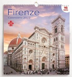 Immagine di Florencia Firenze Calendario de pared 2022 cm 31x33 (12,2x13 in)