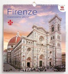 Immagine di Florence Firenze 2022 wall Calendar cm 31x33 (12,2x13 in)