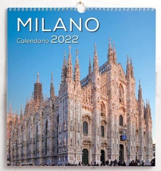 Picture of Calendario da muro 2022 Milano cm 31x33