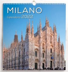 Immagine di Milano Calendario de pared 2022 cm 31x33 (12,2x13 in)