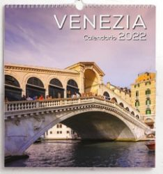 Immagine di Calendario da muro 2022 Venezia cm 31x33