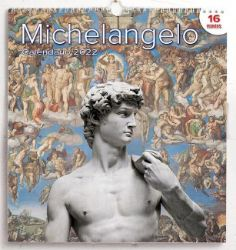 Picture of Michelangelo 2022 wall Calendar cm 31x33 (12,2x13 in)