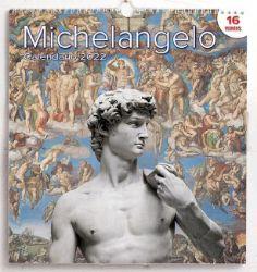 Picture of Miguel Ángel Calendario de pared 2022 cm 31x33 (12,2x13 in)
