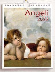 Imagen de Angels 2022 wall and desk calendar cm 16,5x21 (6,5x8,3 in)