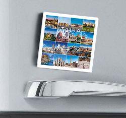 Immagine di Italy Italia 2022 magnetic calendar cm 8x8 (3,1x3,1 in)