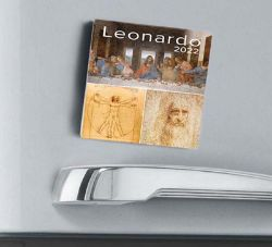 Picture of Leonardo 2022 magnetic calendar cm 8x8 (3,1x3,1 in)