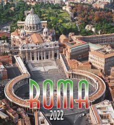 Immagine di Rome by day 2022 wall Calendar cm 32x34 (12,6x13,4 in)