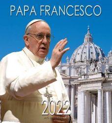 Picture of Papa Francisco Basilica de San Pedro Calendario de pared 2022 cm 32x34 (12,6x13,4 in)