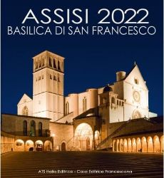 Picture of Assisi 2022 Basilica of Saint Francis wall Calendar cm 32x34 (12,6x13,4 in)