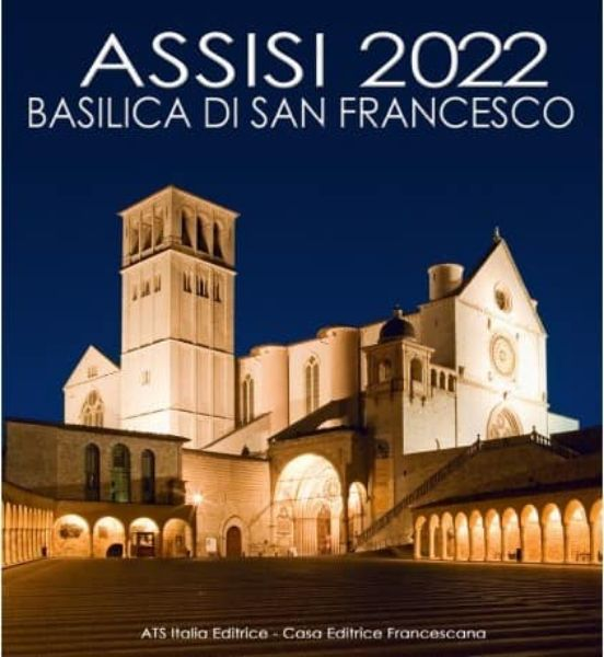 Imagen de Assisi 2022 Basilica of Saint Francis wall Calendar cm 32x34 (12,6x13,4 in)