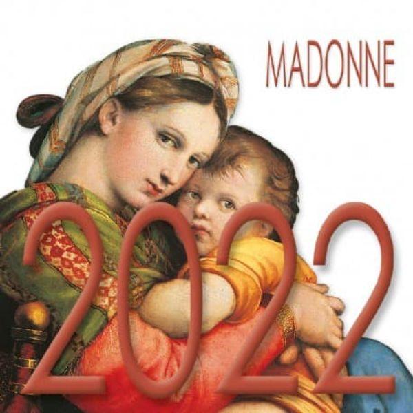 Picture of Calendario da tavolo 2022 Madonne cm 8x8