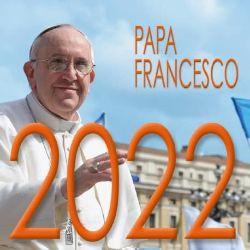 Picture of Calendario da tavolo 2022 Papa Francesco San Pietro cm 8x8