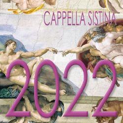 Picture of Cappella Sistina Calendario da tavolo 2022 cm 8x8