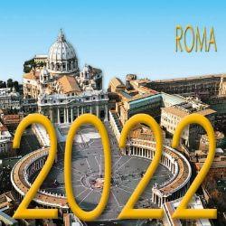Picture of Roma giorno Calendario da tavolo 2022 cm 8x8