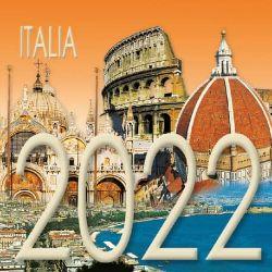 Picture of Italia Calendario da tavolo 2022 cm 8x8