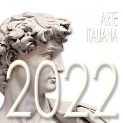 Picture of Arte Italiana Calendario da tavolo 2022 cm 8x8