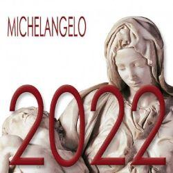 Picture of Michelangelo Calendario da tavolo 2022 cm 8x8