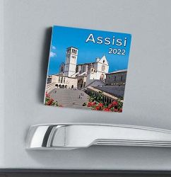 Immagine di Calendario magnetico 2022 Assisi Duomo cm 8x8