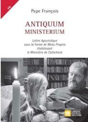 Picture of Antiquum Ministerium Lettre Apostolique sous la forme de Motu Proprio établissant le Ministère de Catéchiste Pape François