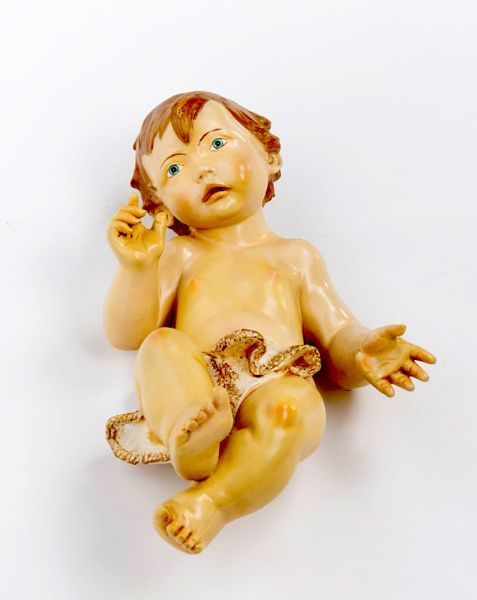 Picture of Baby Jesus cm 180 (70 Inch) Fontanini Nativity Statue for Outdoor use, hand painted Resin