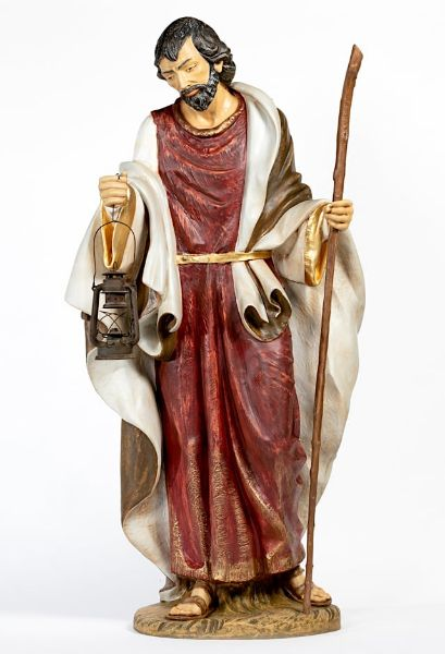 Picture of Wise King Balthazar Standing cm 180 (70 Inch) Fontanini Nativity Statue for Outdoor use, hand painted Resin