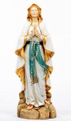 Immagine di Madonna di Lourdes cm 52 (20 Inch) Statua Fontanini in Resina per esterno dipinta a mano