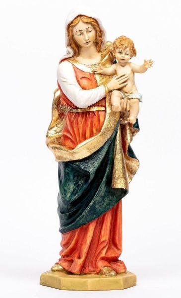 Immagine di Madonna con Bambino cm 51 (20 Inch) Statua Fontanini in Resina per esterno dipinta a mano