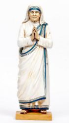 Immagine di Santa Madre Teresa di Calcutta cm 47 (18 Inch) Statua Fontanini in Resina per esterno dipinta a mano